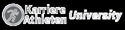 Logo-Karriere-Athleten-University-chrome